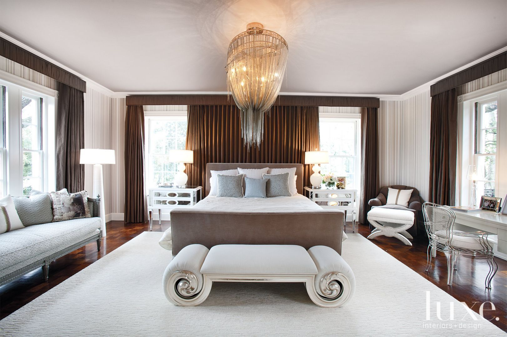 Luxury master bedroom plan  Master Bedroom  Bedrooms  Pinterest  Cherries Master bedrooms