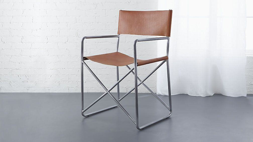 Leather Director S Chair Cb2