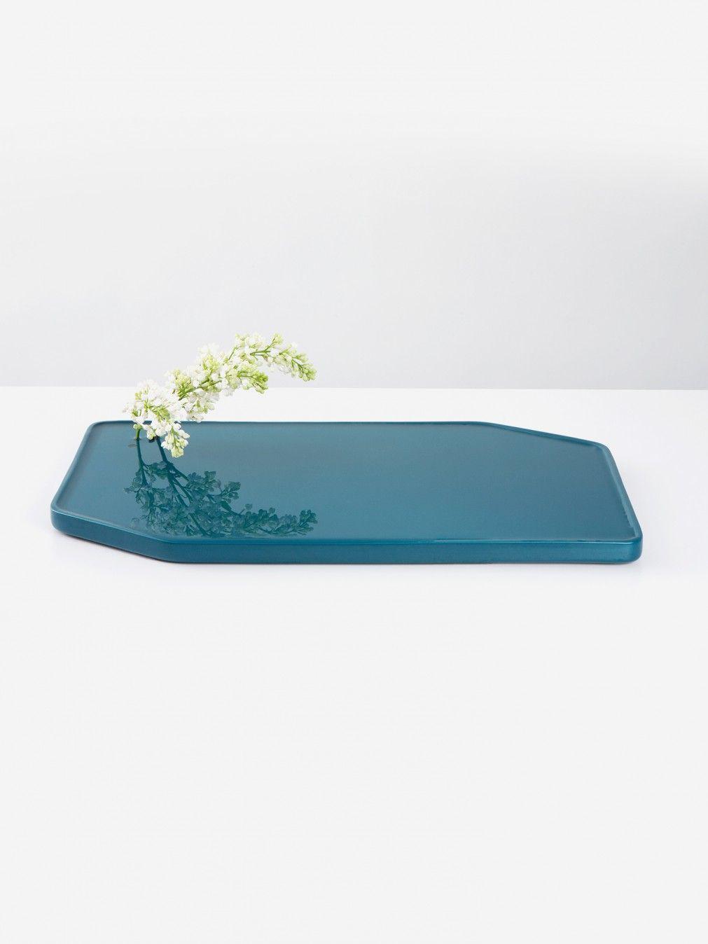 Plan ceramic vase - Moustache