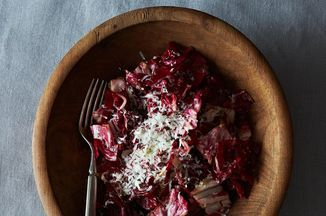 Radicchio Salad with Manchego Vinaigrette