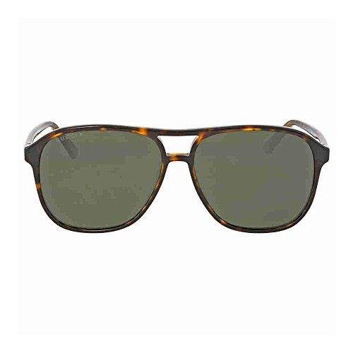 4589a8c0b19 Gucci 0016S 007 Havana 0016S Round Sunglasses Polarised Lens Category 3  Size 58