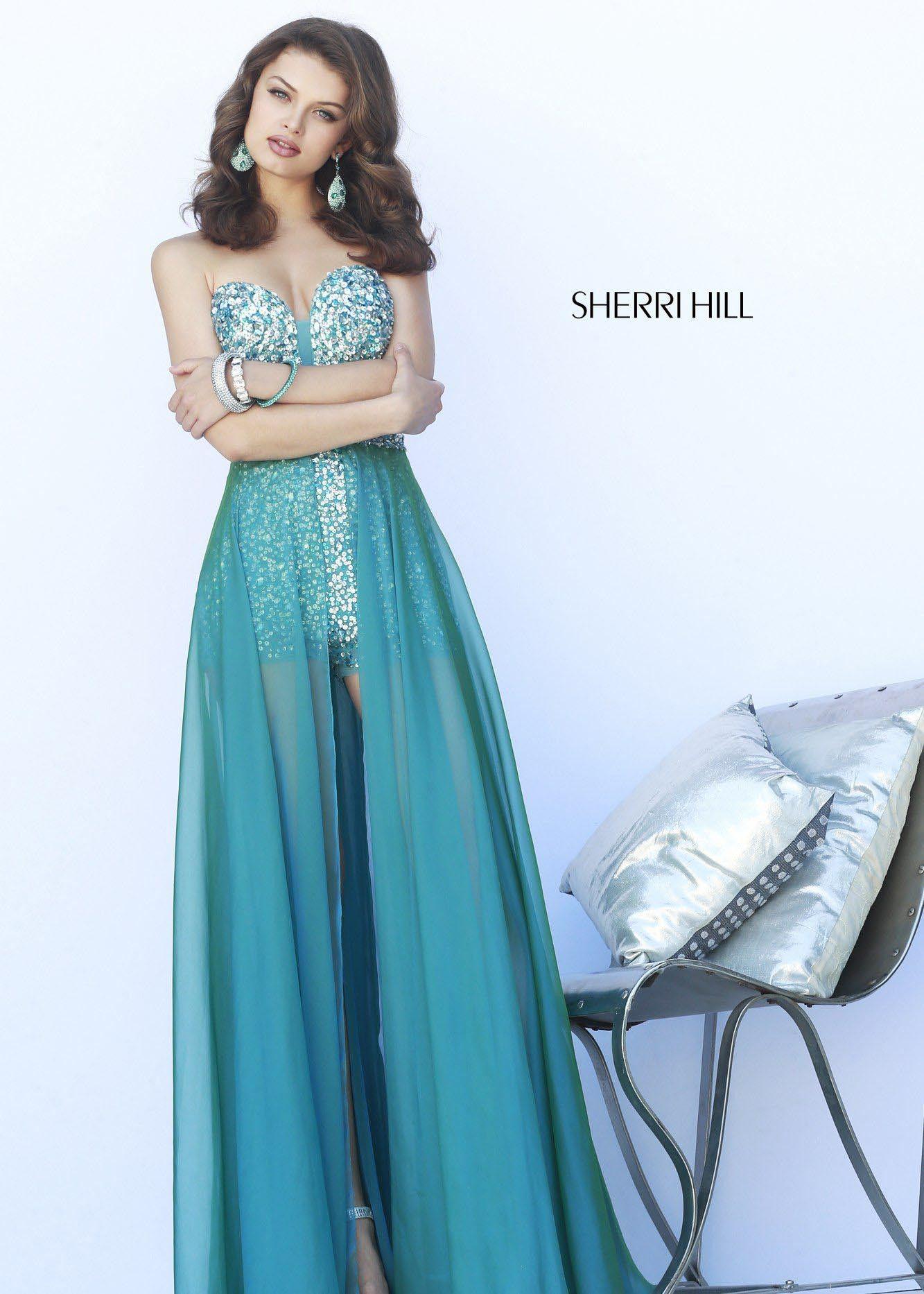 90f96ea9 Sherri Hill 9724 Sparkly Sequin Romper | Jumpsuits & Rompers | Prom ...