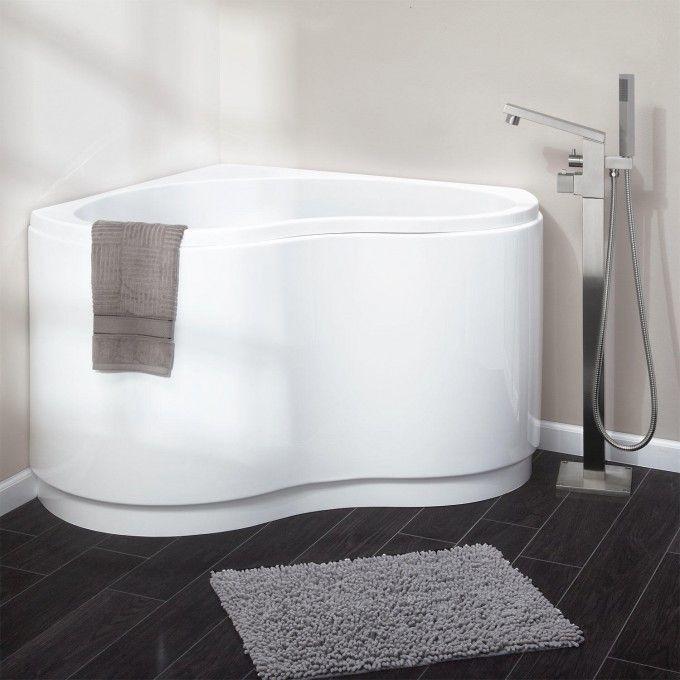 49 Kenora Acrylic Corner Tub Freestanding Tubs Bathtubs
