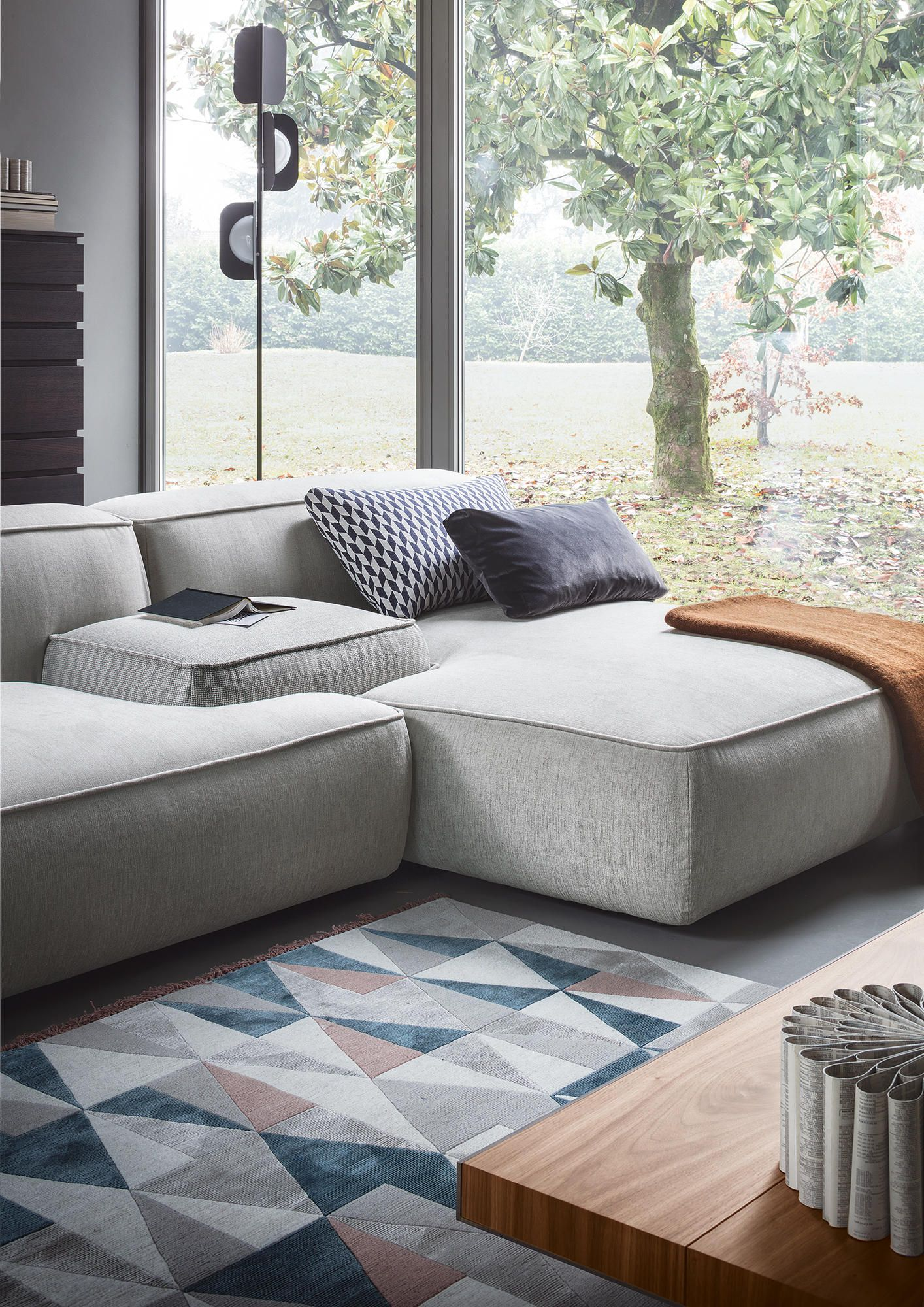 Flexible Living Lema S Latest Upholstered Seating Systems Sofa