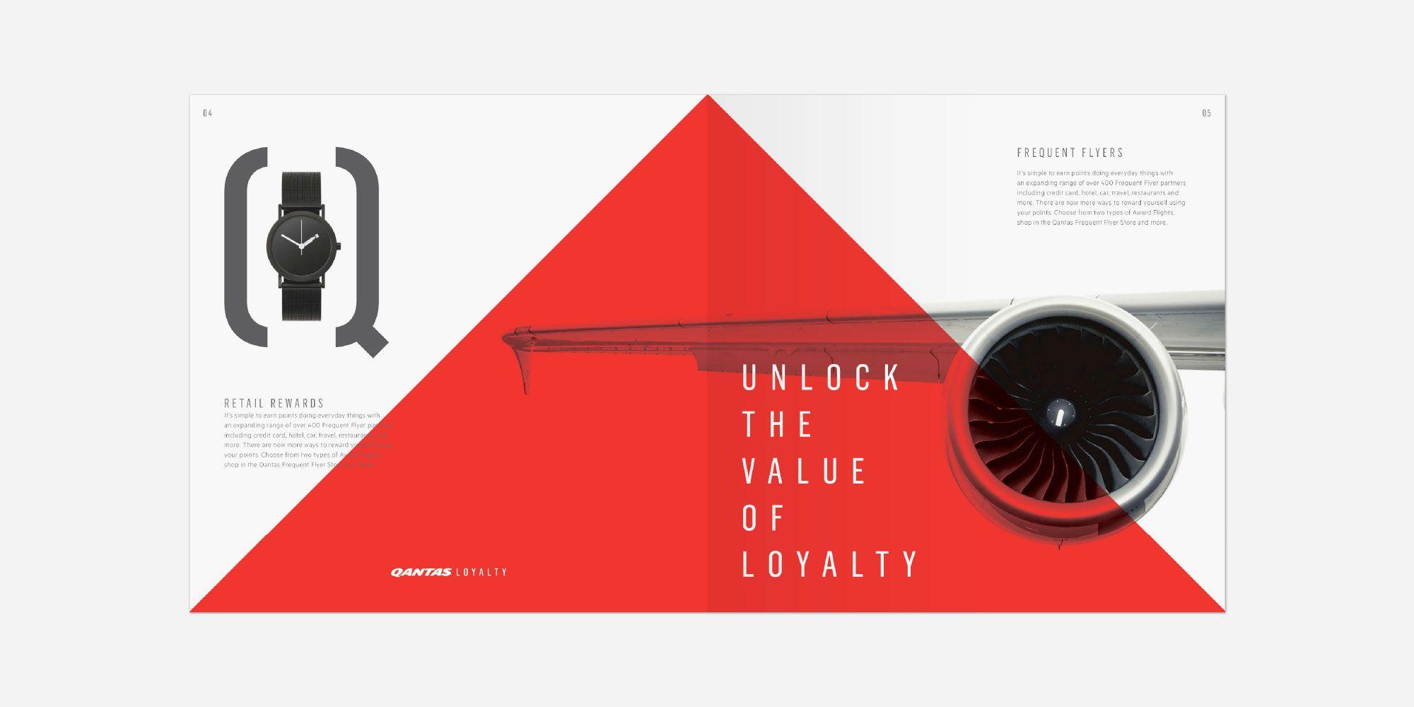 Houston Group | Qantas Loyalty | Print design | Print design