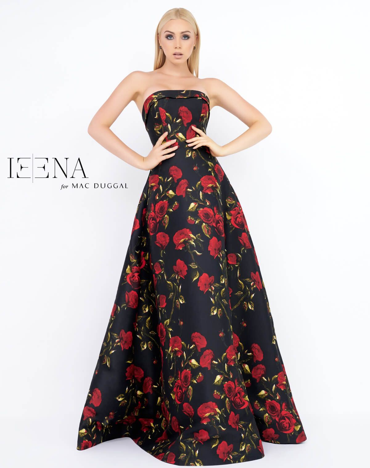 Ieena duggal style i is a stand out look flawless in floral