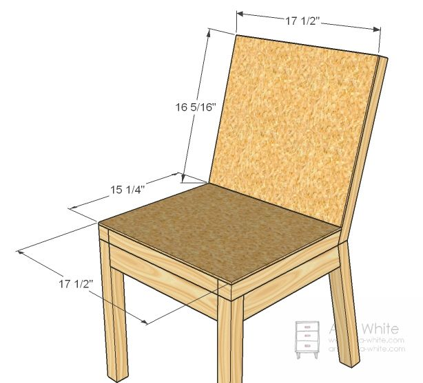 ana white build a parson chair plans free and easy diy project and furniture - Easy Homemade Furniture Plans
