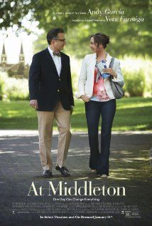 A man and a woman fall in love while taking their kids on a college admissions tour.