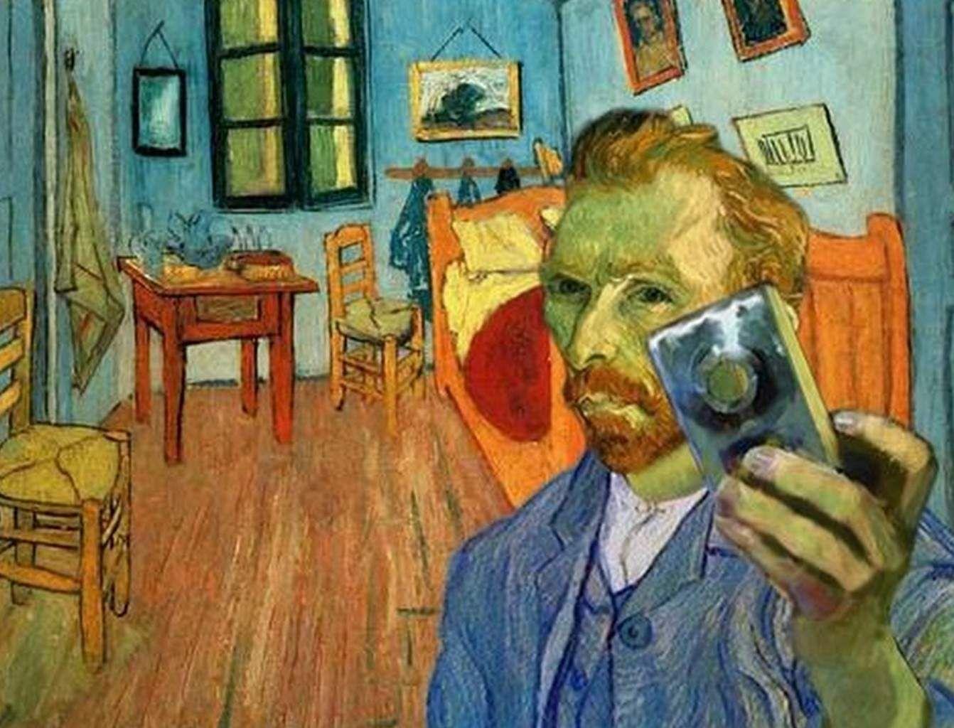 Vincent van Gogh bedroom selfie jpg  1342 1024. Vincent van Gogh bedroom selfie jpg  1342 1024    Leo VanGogh