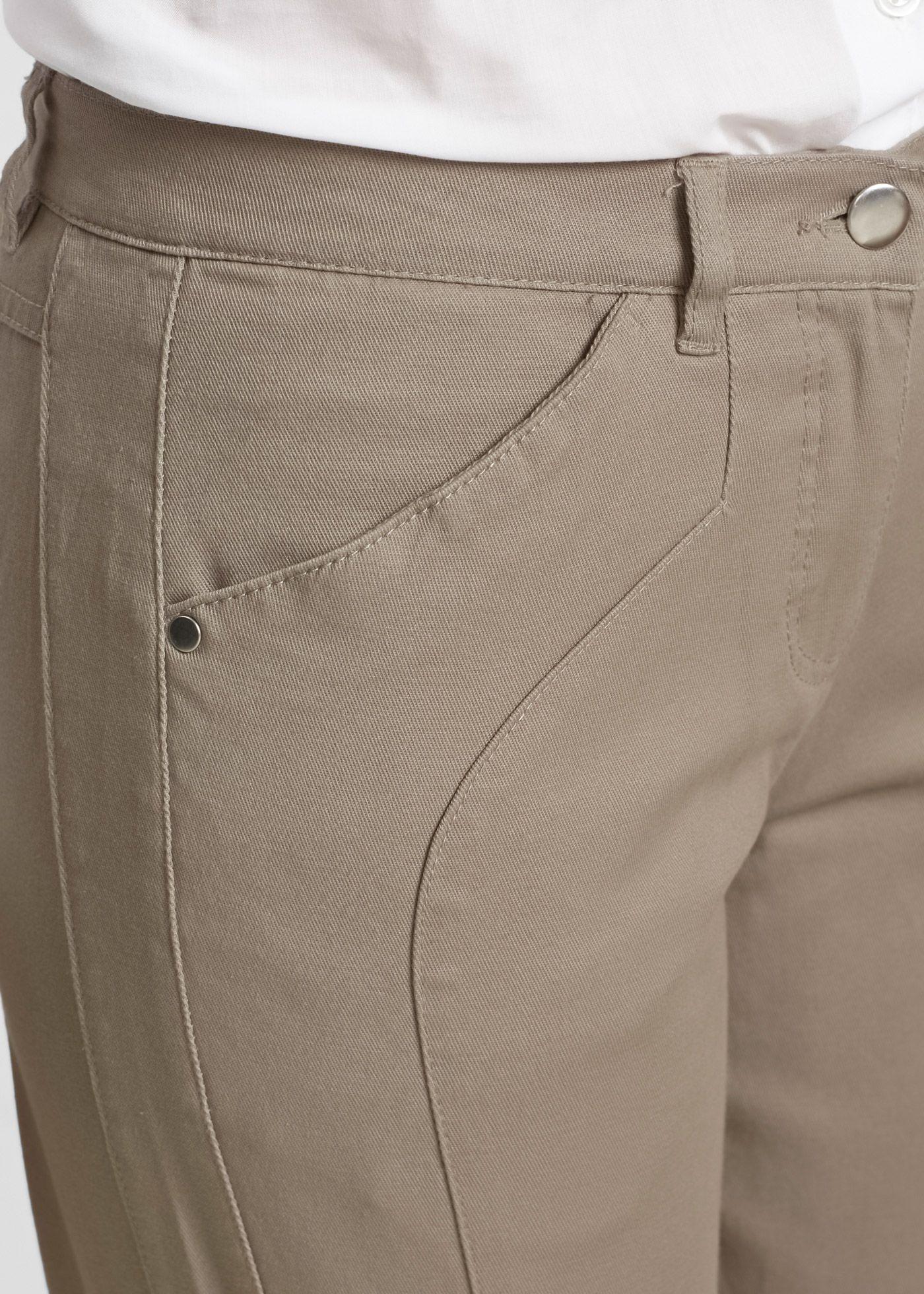 Pohodlné strečové kalhoty  fca44be1c6