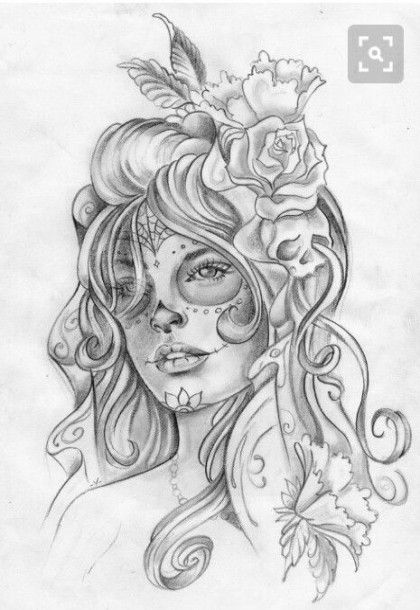 New Tattoo Sleeve Girl Color Sugar Skull Ideas Skull Girl Tattoo Girls With Sleeve Tattoos Sleeve Tattoos