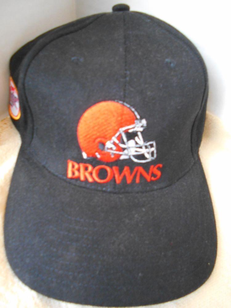 6750cf8a NFL Cleveland Browns Helmut Miller Lite Baseball Cap Hat Black ...