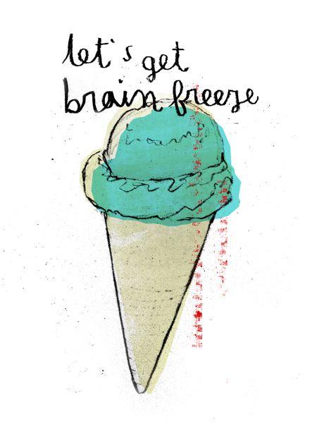 Detritus Ice Cream Quotes Funny Ice Cream Quotes Ice Cream Illustration