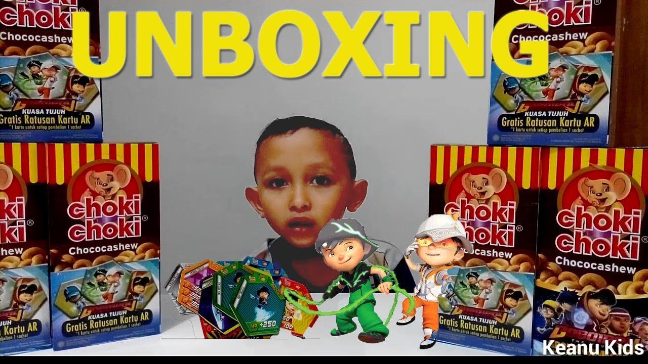 UNBOXING #18 Choki Choki AR BoBoiBoy versi terbaru Kuasa 7 Solar Thorn |...