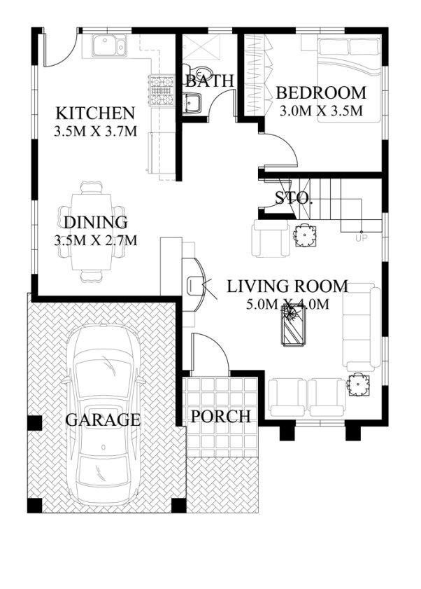 Halos nasa na mga images kasama ang floor plans and designs sa loob ng posts ito plan details code mhd two storey house also rh in pinterest
