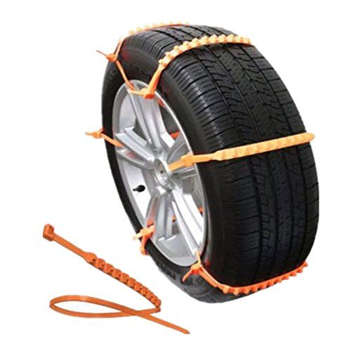 Baifm Portable Emergency Traction Aid Antislip Chain Vehicle Snow Chains Ice Snow Traction Cleats For Bad Weather Snow Chains Snow Chains For Cars Suv Trucks