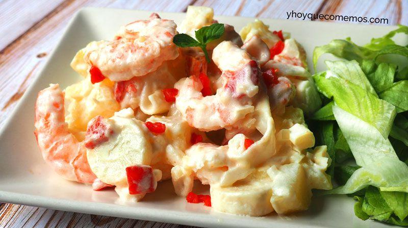 Ensaladilla de marisco facil – Recetas y Postres – Y hoy qué comemos