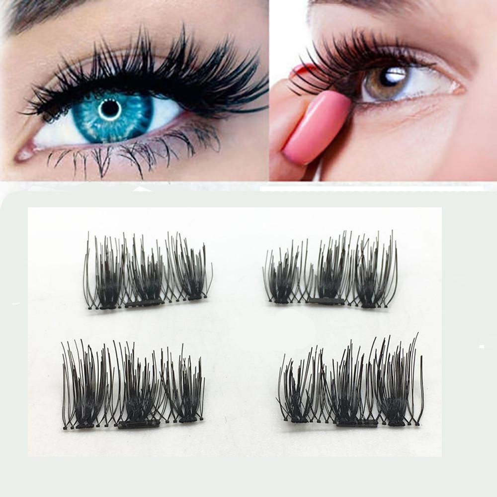 how to put on magnetic eyelashes kiss