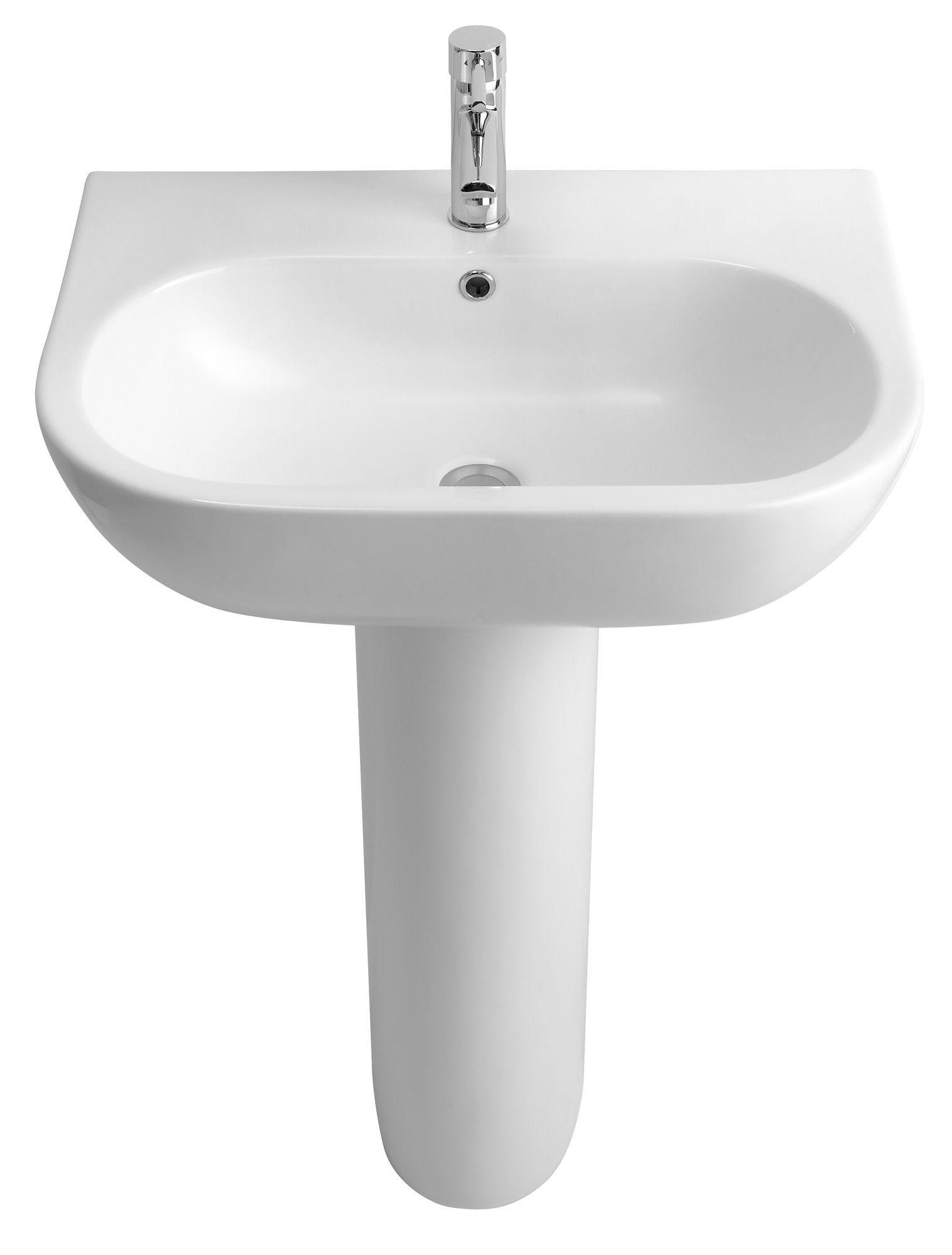 Cooke Lewis Helena Full Pedestal Basin Departments Diy At B Q Pedestal Basin Basin Complete Bathrooms