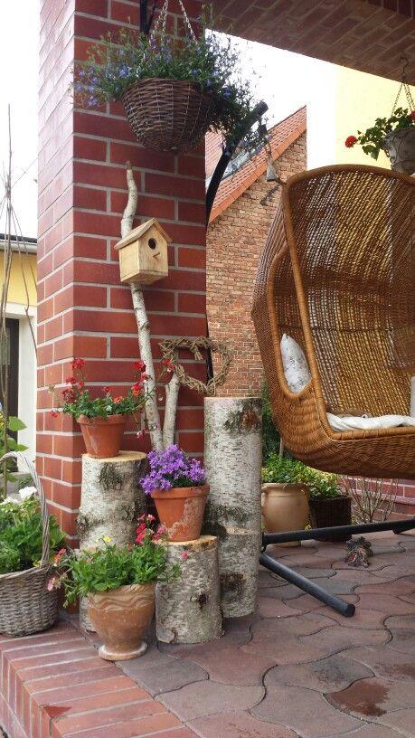 Die besten 25 terrassendeko ideen auf pinterest for Einfache gartengestaltung ideen