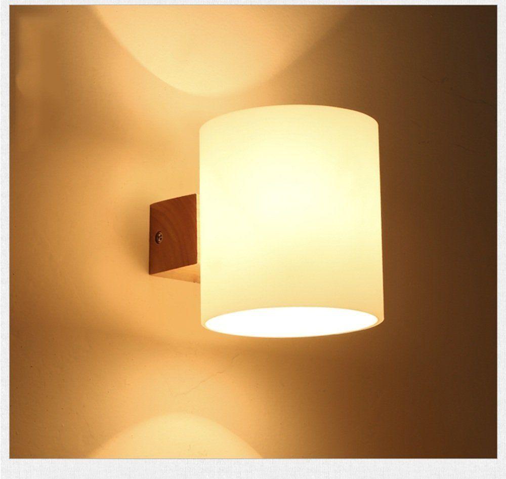 Dfhhg Wandleuchte Im Massivholz Nordic Holz Lampe Mit Wohnzimmer Wandleuchte Treppenhaus Korridor Gang Wan Lampen Treppenhaus Led Wandleuchten Wandbeleuchtung