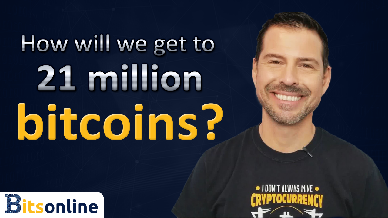 How Will We Get to 21 Million Bitcoins? (With images) | Bitcoin, 21st, Cryptocurrency