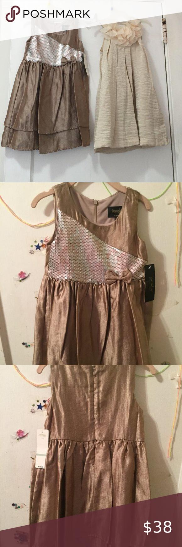 Hp Girl S 2 Pc Party Formal Dress Set Size 4t Set Dress Girls Fancy Dress Toddler Flower Girl Dresses [ 1740 x 580 Pixel ]