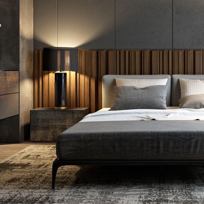 Wall Panels Wooden Curtain In Bedroom Headboard Design Bedroom