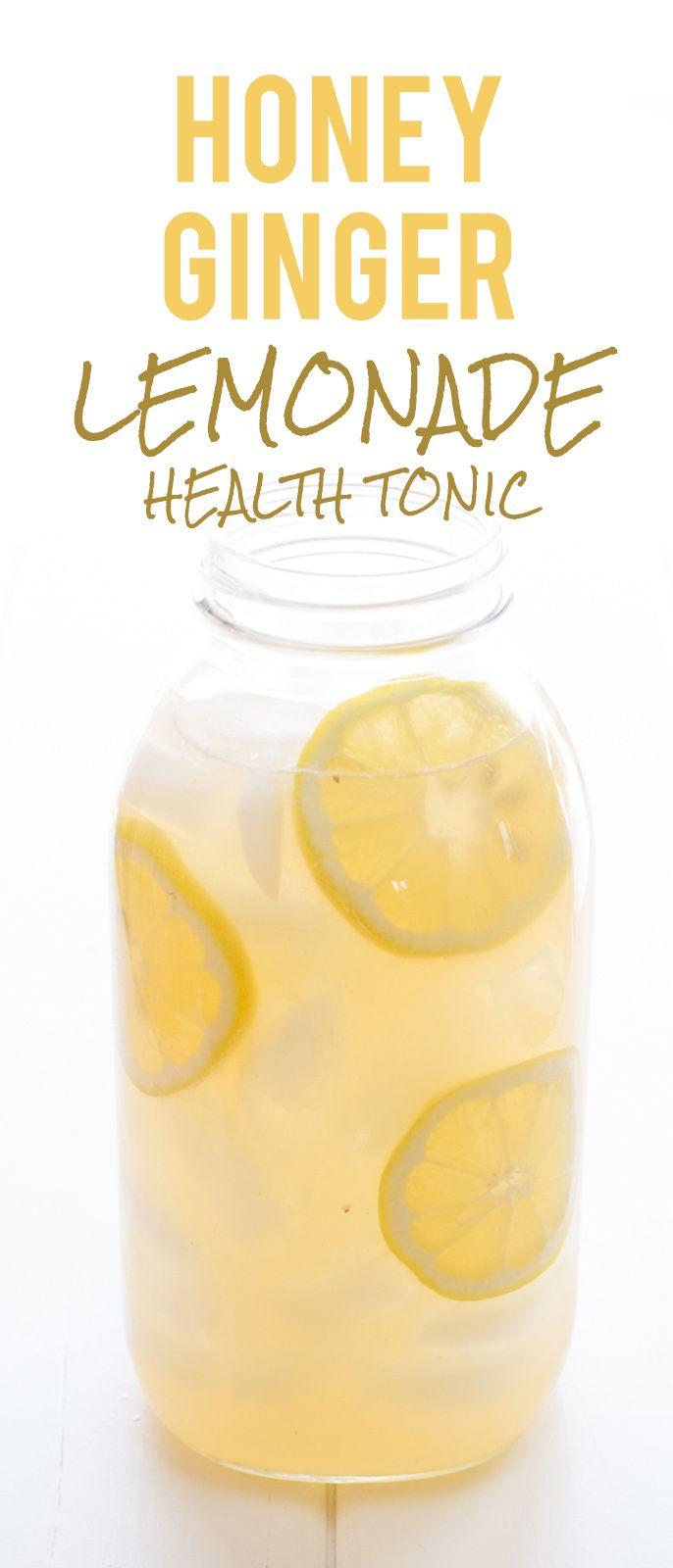 Honey Ginger Lemonade Health Tonic | Rezept | Recipes to Cook ...