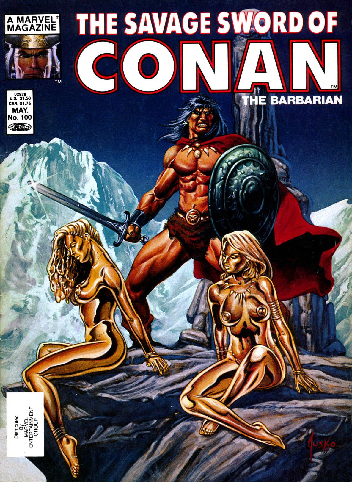 savage sword of conan 2019 covers