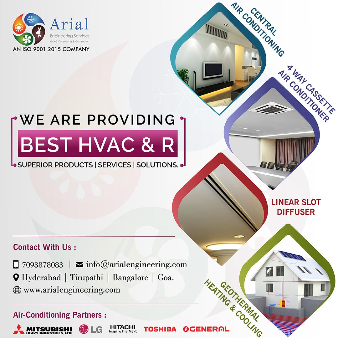 Quiet And Compact Every Ac Product Of Arial Engineering Services