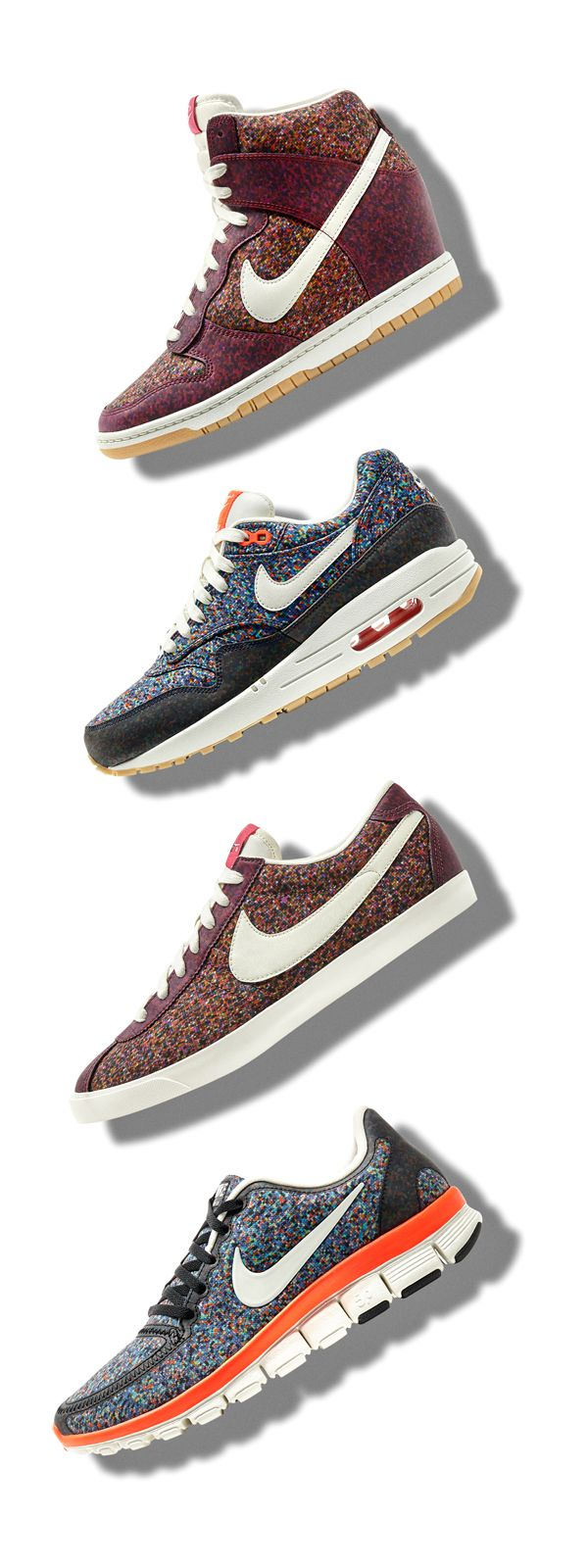 The Nike Liberty Collection. Now available.