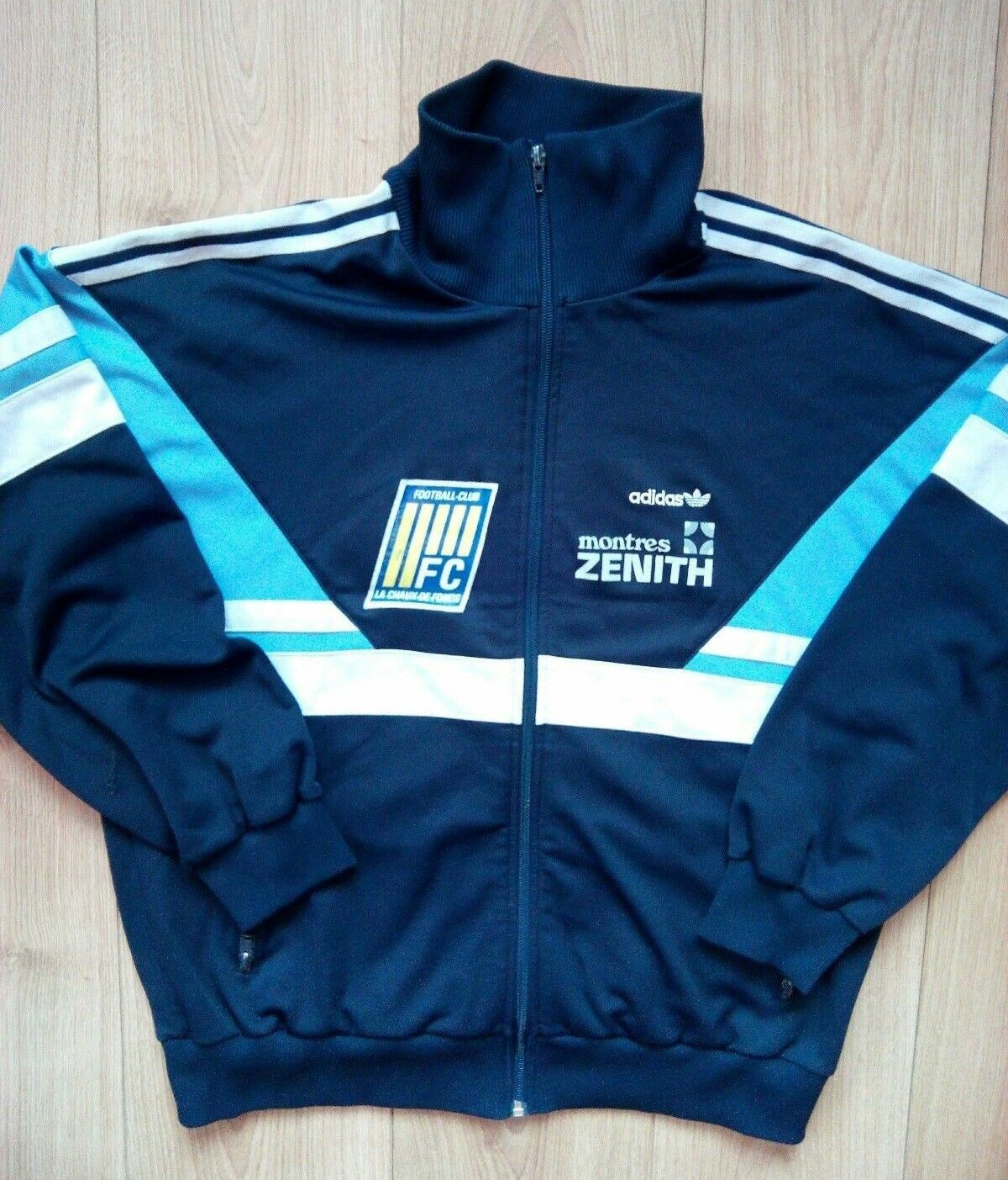 Adidas Originals 80's mens vintage tracksuit top jacket, in