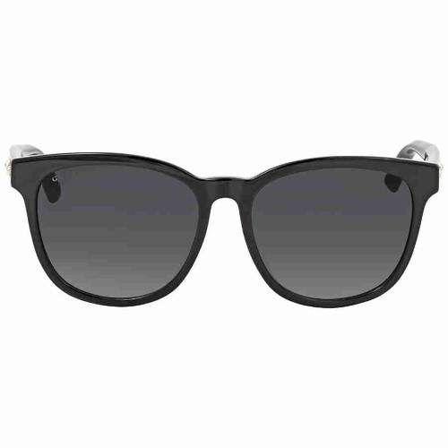 2916c6e0cbc40 Gucci Grey Square Sunglasses GG0232SK 001 56