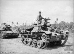 "A Type 95 ""Ha-Go"" light tank"