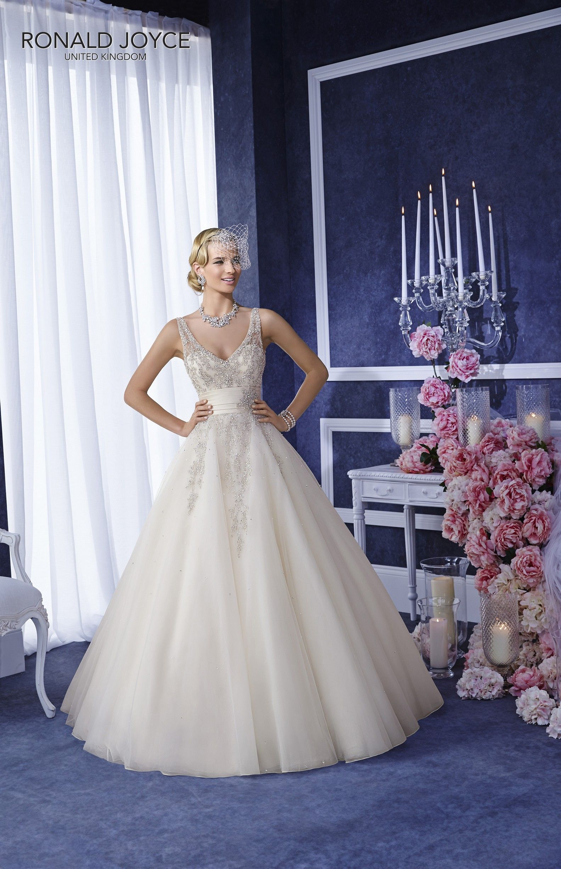 Short Wedding Dress Ronald Joyce Wedding Dresses Bridal Dresses [ 2448 x 1583 Pixel ]