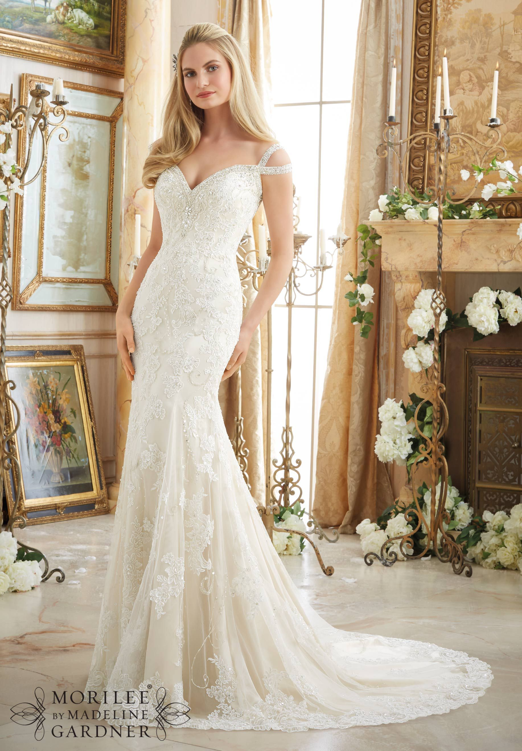 Mori lee 2894 | Mori Lee Bridal | Detatchable Train | Bridal Gowns ...