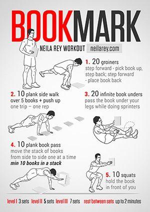 bookmark workout screw that  neila rey workout