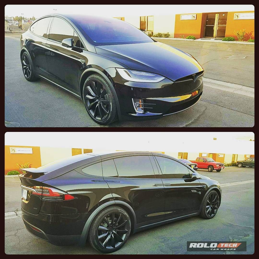 Another Tesla Model X Done All Chrome Trim Blackout Teslamodelx Modelx Chromeblackout Fullelectric Teslamotorsclub Tesla Model X Tesla Tesla Model