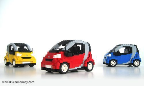 Smart Fortwo A Lego Creation By Sean Kenney