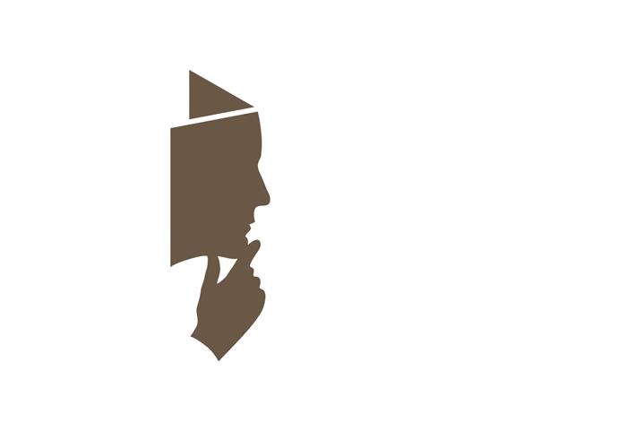 Logo Inspired By The Thinker Logo Inspiration Image Inspiration