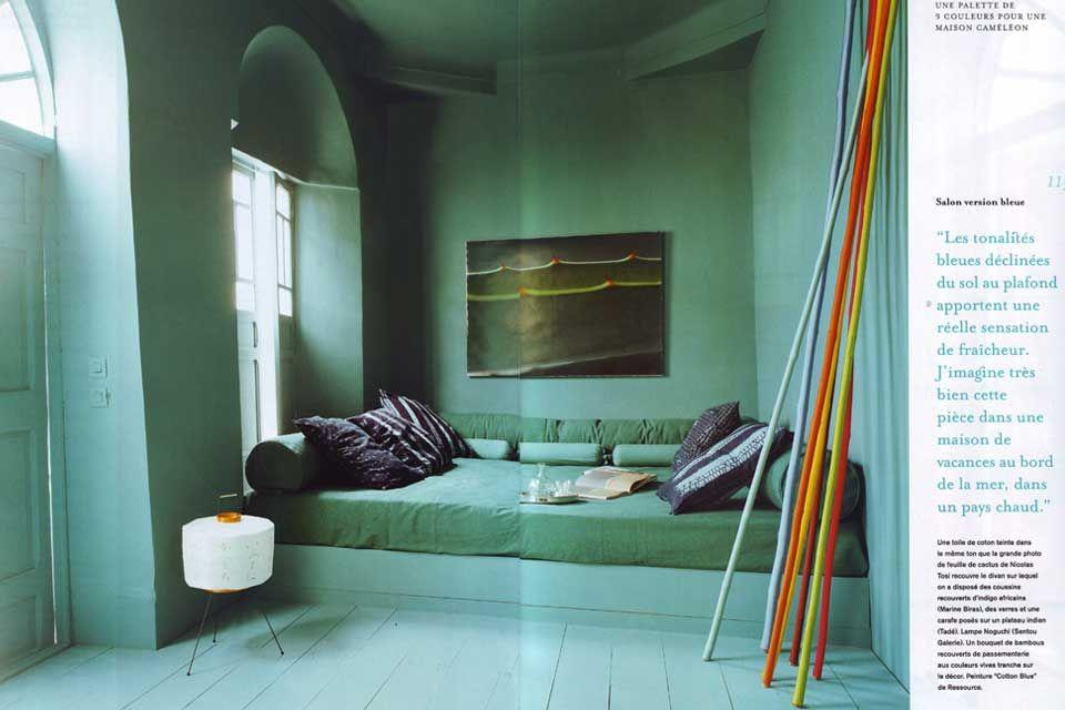 Valerie Barkowski - reportage Marie Claire maison Room Pinterest
