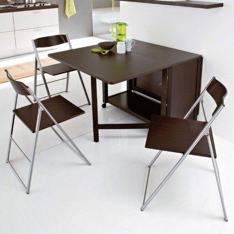 ensemble table modulable et 6 chaises