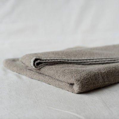 Natural Linen Terry Towel | Linen Tales