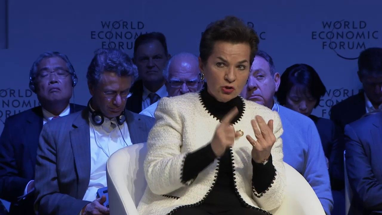Davos 2017 Energy's Clean Transition Energy