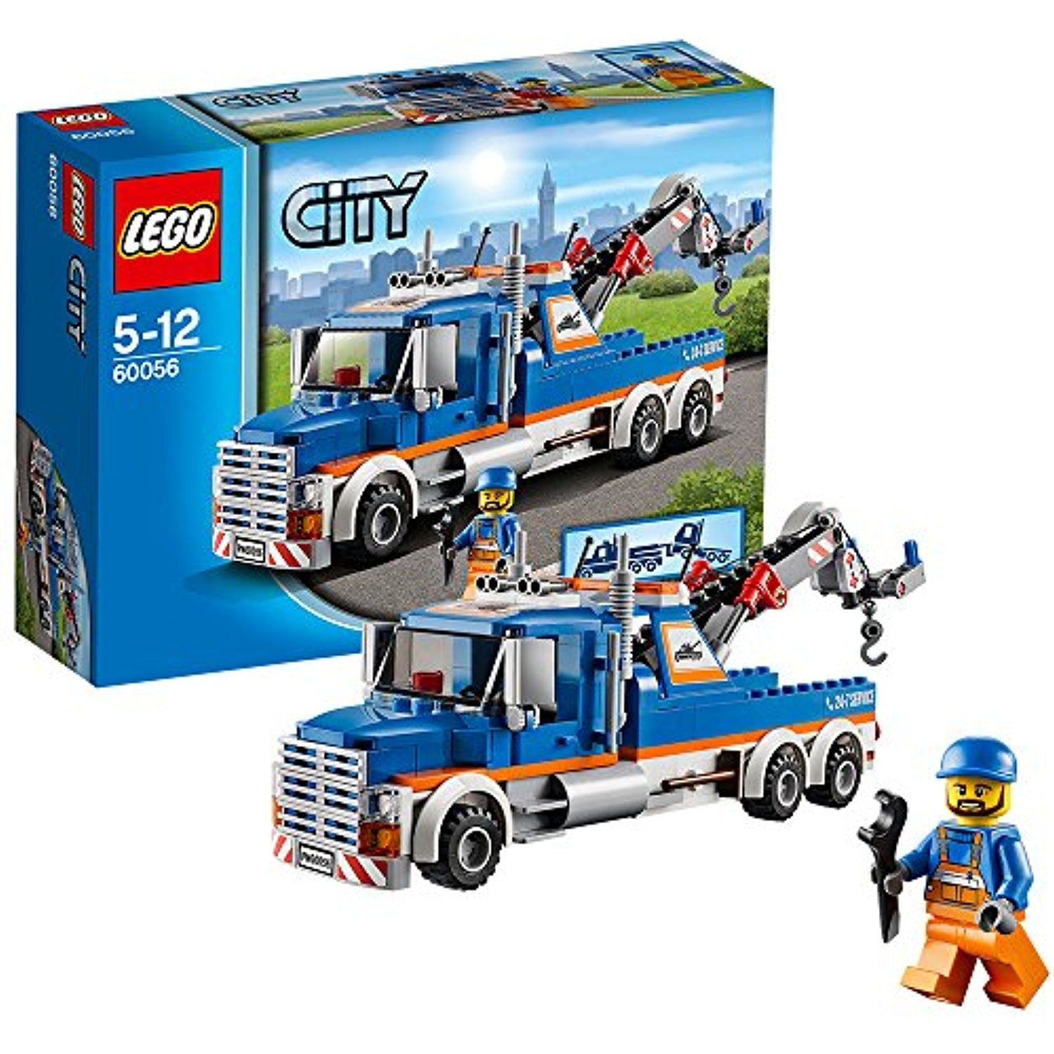 Lego City Great Vehicles 60056 Tow Truck Find Out More About The Great Product At The Image Link This Is An Affi Lego City Lego Sets For Boys Lego Truck