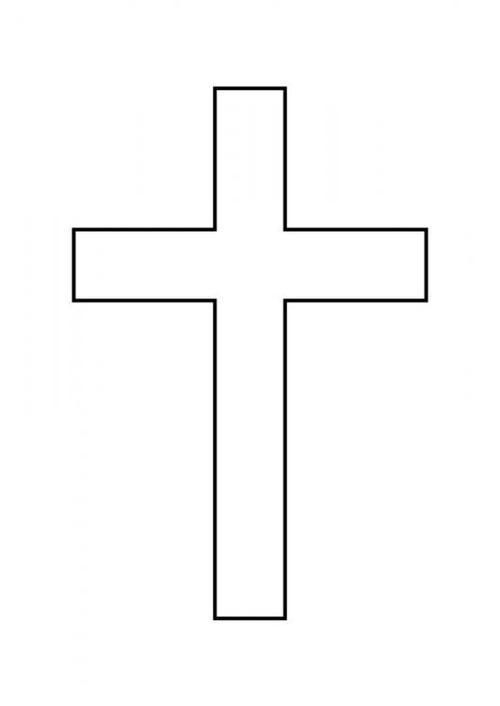 Pin By Rikki Nagy On Day 2 Dark Cross Coloring Page Cross Printable Coloring Pages