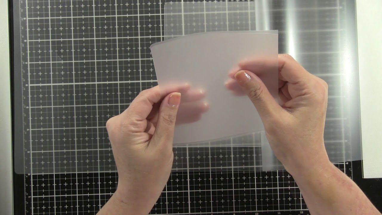 Diy laminated pouches stamp storage scrapbook