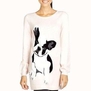 8581c7e0460 Adorable Boston Terrier sweater.