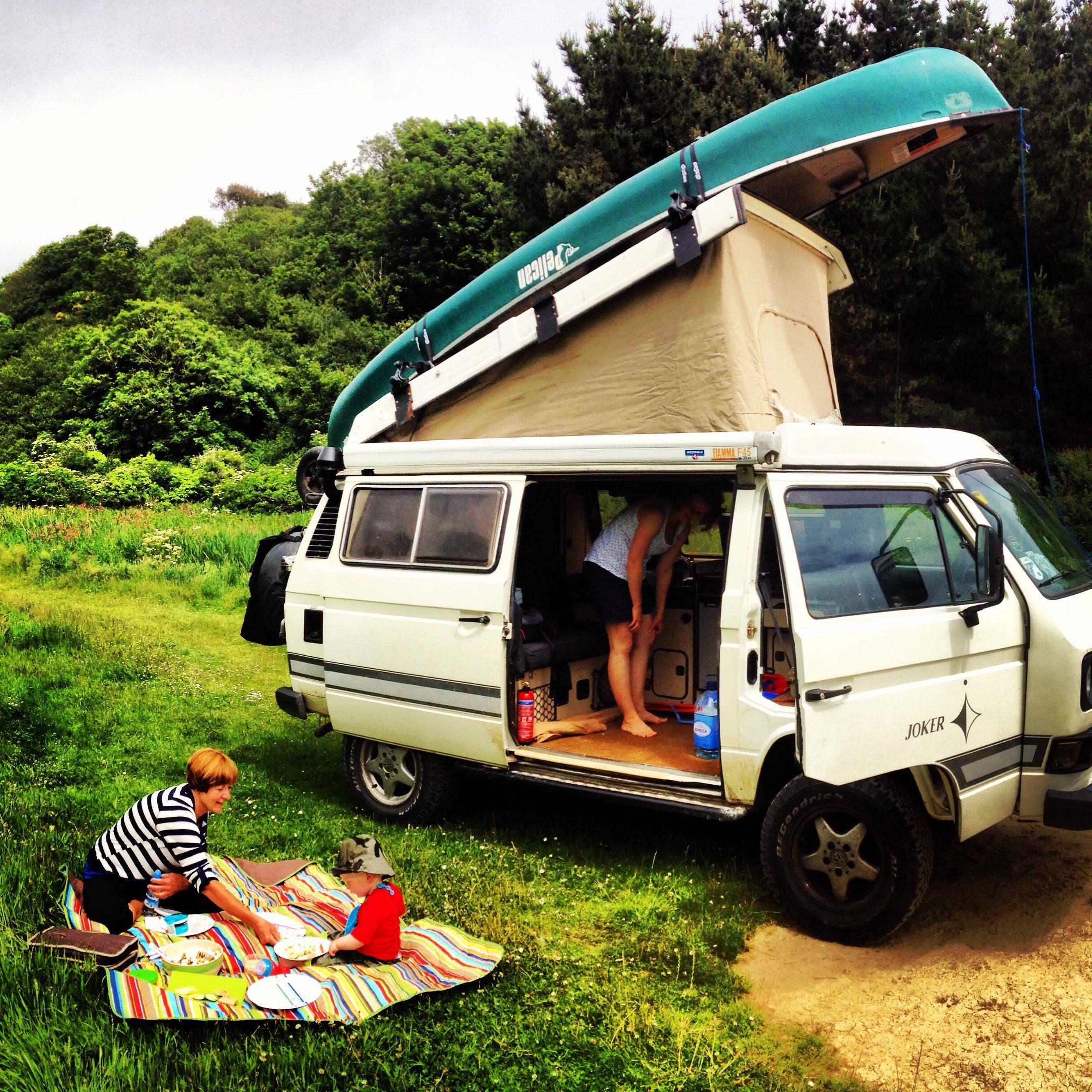 Campervan Culture Van Life Roof Rack Volkswagen Camper Van